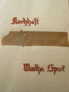 Kochheft Martha Spurk