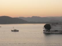 Lake Pichola at dusk